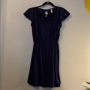Comfy, Navy Dress